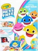 Baby Shark - Crayola Color Wonder Coloring Pad & Markers