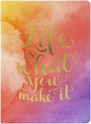 Life Is What You Make It - Softcover Journal