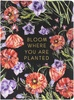 Black Floral - Softcover Journal