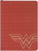 Wonder Woman Red Line Logo - Softcover Journal