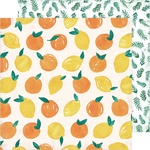 """Fresh Squeezed - Heidi Swapp Storyline Chapters Double-Sided Cardstock 12"""""""
