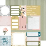 """Everyday - Heidi Swapp Storyline Chapters Double-Sided Cardstock 12"""""""