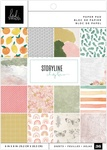 """Storyline Chapters - Heidi Swapp Single-Sided Paper Pad 6""""X8"""""""