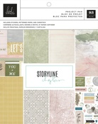 """The Scrapbooker, 106 Pieces - Heidi Swapp Storyline Chapters Project Pad 7.5""""X9.5"""""""