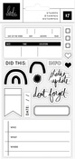Heidi Swapp Storyline Chapters Clear Stamps