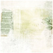 """Perennial - Vintage Artistry Sage Double-Sided Cardstock 12""""X12"""""""