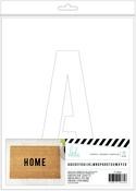Alphas - Heidi Swapp DIY Doormats Stencil