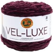 Eggplant - Lion Brand Yarn Vel-Luxe