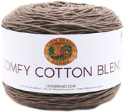 Mochaccino - Lion Brand Comfy Cotton Blend Yarn