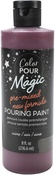 Wine - Color Pour Magic Pre-Mixed Paint - American Crafts
