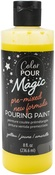 Citrine - Color Pour Magic Pre-Mixed Paint - American Crafts