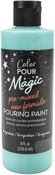 Turquoise - Color Pour Magic Pre-Mixed Paint - American Crafts