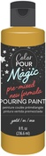 Metallic Gold - Color Pour Magic Pre-Mixed Paint - American Crafts