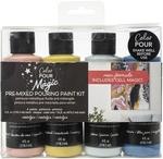 Nostalgia - Color Pour Magic Pre-Mixed Paint Kit - American Crafts