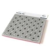 "Floral Diamond - Pinkfresh Studio Cling Rubber Stamp Set 6""X 6"""