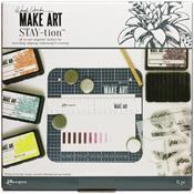 "Wendy Vecchi Make Art Stay-tion - 7""x7"""