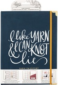 Yarn Passport - 8 x 10.5 - Gold Foil - The Hook Nook - PRE ORDER