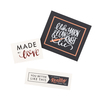 Cloth Project Labels - The Hook Nook
