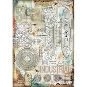 Industrial Stamperia Rice Paper Sheet A4