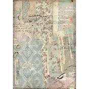 Wallpaper Stamperia A4 Rice Paper Sheet