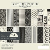 Timeless 6 x 6 Paper Pad - Authentique
