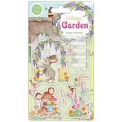 Green Fingers A5 Clear Stamps - Craft Consortium