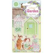 Potting Shed A5 Clear Stamps - Craft Consortium