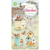 Birds And The Bees A5 Clear Stamps - Craft Consortium