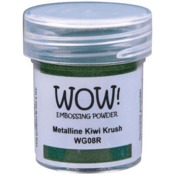 Kiwi Krush Metalline WOW! Embossing Powder