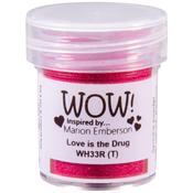 Love Is The Drug WOW! Embossing Powder