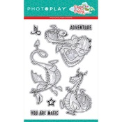 Dragon Dreams 4x6 Stamp Dragons - Photoplay