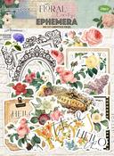 Floral Tapestry Die Cut Ephemera - Memory-Place - PRE ORDER