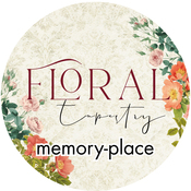 Floral Tapestry Washi Tape 25mm - Memory-Place