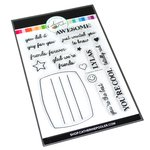 Composition Sentiments Stamp Set