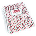 Cherry Tart Canvo Journal - Catherine Pooler