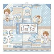 Little Boy Stamperia 12x12 Double-Sided Paper Pad - PRE ORDER