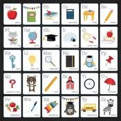 Alphabet Paper - School Rules - Echo Park