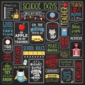 School is Cool Paper - School Rules - Echo Park