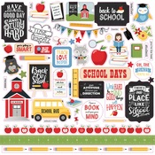 School Rules Element Sticker - School Rules - Echo Park