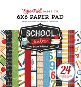School Rules 6x6 Paper Pad - Echo Park
