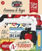 School Rules Frames & Tags Ephemera - Echo Park