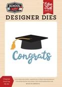 Congrats Grad Cap Die Set - Echo Park