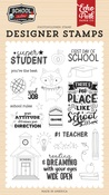 Super Student Stamp Set - Echo Park