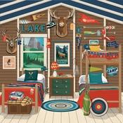 Camp Cabin Paper - Summer Camp - Carta Bella