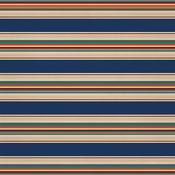 Summer Stripe Paper - Summer Camp - Carta Bella