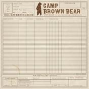 Camp Ledger Paper - Summer Camp - Carta Bella