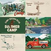 6 x 4 Journaling Cards Paper - Summer Camp - Carta Bella