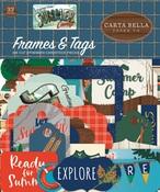 Summer Camp Frames & Tags Ephemera - Carta Bella