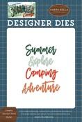 Camping Adventure Word Die Set - Carta Bella