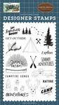 Let Summer Begin Stamp Set - Carta Bella